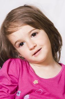 Free Little Girl Portrait Royalty Free Stock Image - 15874396