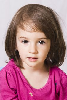 Free Little Girl Portrait Royalty Free Stock Photography - 15874417