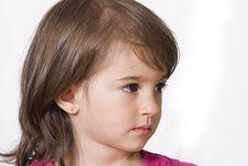 Free Little Girl Portrait Royalty Free Stock Photo - 15874425