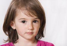 Free Little Girl Portrait Stock Image - 15874441
