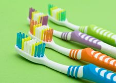 Free Colourful Toothbrushes Stock Images - 15874474