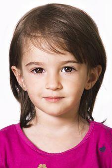 Free Little Girl Portrait Stock Images - 15874484