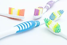 Free Colourful Toothbrushes Stock Photos - 15874553