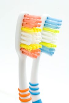 Free Colourful Toothbrushes Royalty Free Stock Photo - 15874575