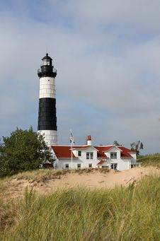 Free Big Sable Point Lighthouse Royalty Free Stock Photo - 15874755