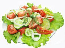 Free Vegetable Salad Royalty Free Stock Photos - 15875248