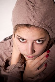 Free Teenage Problems. Loneliness, Violence, Depression Stock Photos - 15875663