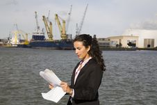 Free Businesswoman And Globalization Royalty Free Stock Image - 15876166