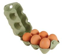 Free Egg Pack. Stock Photo - 15876210