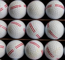 Free Golf Balls Stock Photo - 15876450