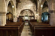Free Church Interior Royalty Free Stock Photography - 15876547
