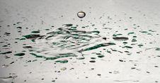 Drop Of Fresh Water Royalty Free Stock Image