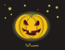 Free HaloweenPumpkin Royalty Free Stock Images - 15876759