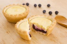 Free Blueberry Tarts Royalty Free Stock Images - 15877219