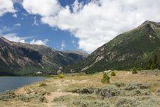 Free Colorado Rockies And Lake Royalty Free Stock Photography - 15877547