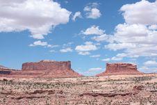 Free Red Rocks Utah Landscape Near Moab Stock Photos - 15877553