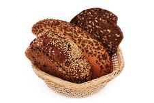 Free Bread With Sesame Seeds Royalty Free Stock Images - 15877949