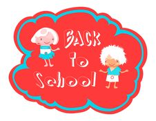 Free Back To School Illustration Royalty Free Stock Photography - 15878067