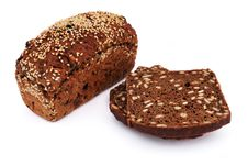 Free Bread With Sesame Seeds Royalty Free Stock Photos - 15879578