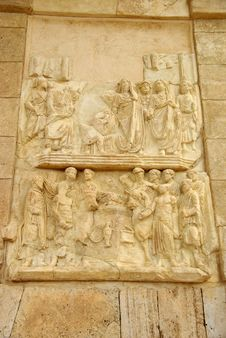 Free Sculptures In Leptis Magna Stock Photo - 15879860