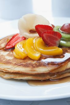 Free Pancakes Stock Photography - 15879952