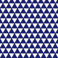 Free Blue Triangle Mosaic Royalty Free Stock Images - 15880199