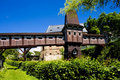 Free Covered Wooden Bridge Stock Photo - 15882750
