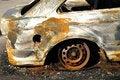 Free Burnt Car Royalty Free Stock Photos - 15883298