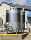 Free Wine Fermenting  Or Storage Tanks Royalty Free Stock Image - 15885296