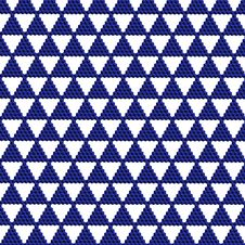 Blue Triangle Mosaic Royalty Free Stock Images