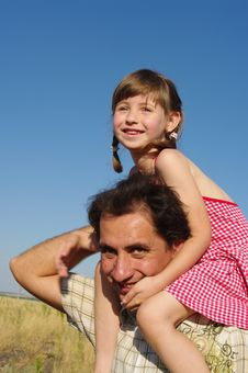 Free Happy Father And Daughter Royalty Free Stock Photo - 15880215