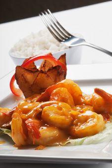 Seafood Dish Royalty Free Stock Image
