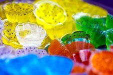 Free Colorful Jelly Royalty Free Stock Photography - 15880387