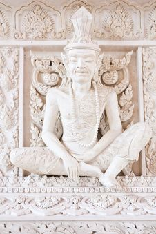 Free Ascetic Statue Stock Image - 15880471