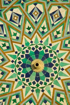 Free Mosque S Floor Decorations Royalty Free Stock Image - 15880586