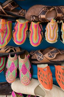Free Traditional Moroccan Shoes Stock Photos - 15880693