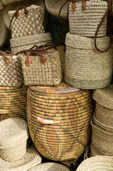 Free Moroccan Baskets Stock Photo - 15880740