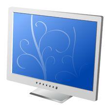 Free Flat Lcd Monitor Stock Image - 15880981