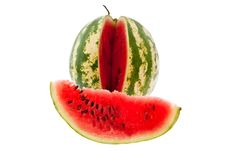 Free Slice Of Watermelon Stock Images - 15881434
