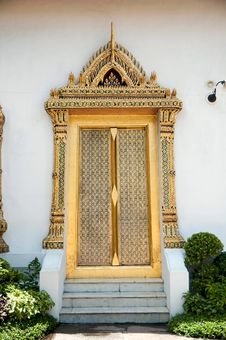 Free Thai-style Doors. Stock Photo - 15881450