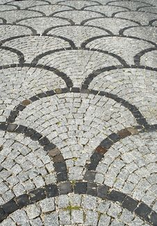 Ornamental Road Surface Stock Photos