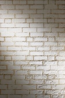 Free White Brick Wall Background Royalty Free Stock Photography - 15883637