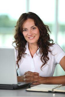 Free Closeup Of Businesswoman Stock Photography - 15883812