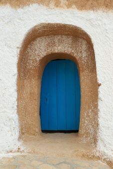 Free Old Blue Door Royalty Free Stock Images - 15884079