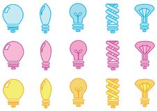 Free Light Bulbs Stock Photos - 15884583