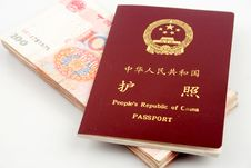Free Passport And Currency Stock Photography - 15884742