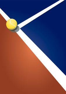 Free Tennis Ace Winner Royalty Free Stock Image - 15885036