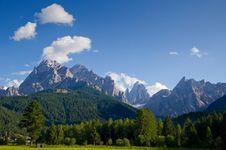 Free Dolomiti Royalty Free Stock Image - 15885196