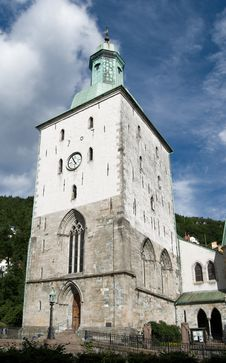 Free Bergen (Domkirke) Cathedral Stock Photos - 15885323
