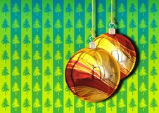 Free 3D Christmas Balls Background Stock Photos - 15885463